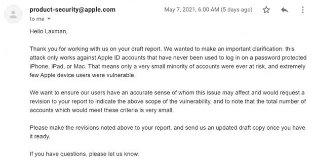 Tìm ra cách chiếm đoạt iCloud, nhưng cách hành xử của Apple khiến hacker này chán nản bỏ cả 18.000 USD tiền thưởng - Ảnh 8.