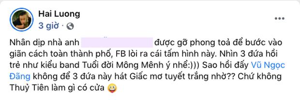 Lương Mạnh Hải bỗng tuyên bố Thủy Tiên không có cửa hát Giấc Mơ Tuyết Trắng sau 15 năm? - Ảnh 2.