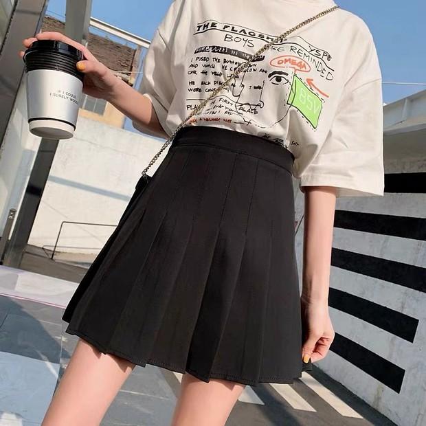Nhìn Hyomin diện chân váy tennis thấy cưng, bắt chước quá đơn giản vì vừa dễ mua lại siêu rẻ - Ảnh 9.
