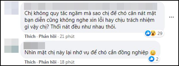 Góc chơi dại: Hoa đán TVB công khai đá đểu Ngô Diệc Phàm, ai dè bị khui lại phốt thả chó cắn nát đầu bạn diễn - Ảnh 4.