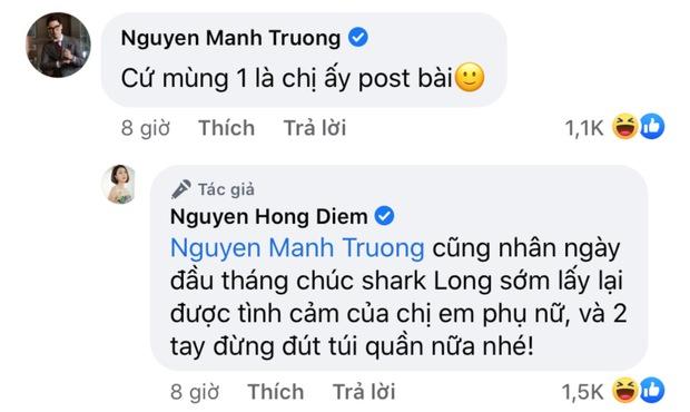 Diễn viên Hồng Diễm tái xuất mạng xã hội sau hơn 1 tháng mất hút, Hồng Đăng - Mạnh Trường lập tức vào cà khịa? - Ảnh 3.
