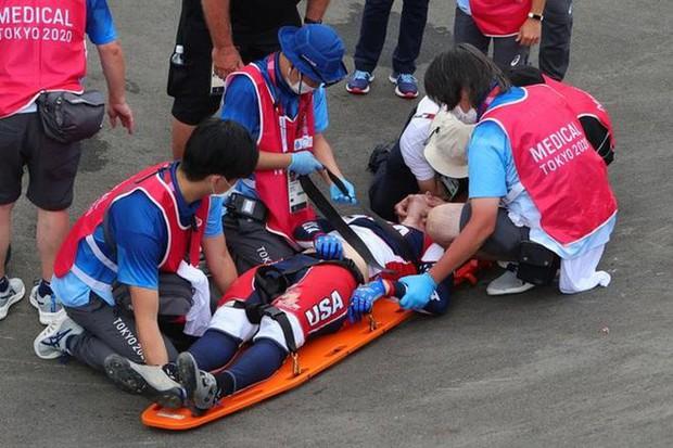 Nhà vô địch Olympic bị xuất huyết não sau tai nạn kinh hoàng - Ảnh 2.
