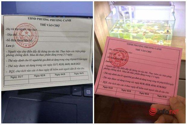 Hà Nội: Người dân phường này có thể mang phiếu đi chợ đến chợ của phường khác không? - Ảnh 1.