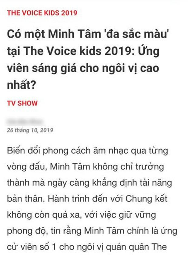 The Voice Kids từng vướng nghi án dàn xếp kết quả: HLV lỡ tay share link học trò là Quán quân trước Chung kết? - Ảnh 3.