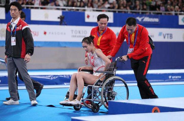 Khoảnh khắc chấn thương của nữ thần thể dục dụng cụ Trung Quốc bất ngờ gây sốt và kết cục đáng tự hào ở Olympic Tokyo 2020 - Ảnh 7.