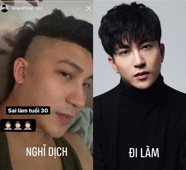 Một đường cắt tóc sai lầm của B Trần tuổi 30 làm bác sĩ Phong của Cây Tháo Nở Hoa bỗng hoá dân chơi xóm - Ảnh 2.