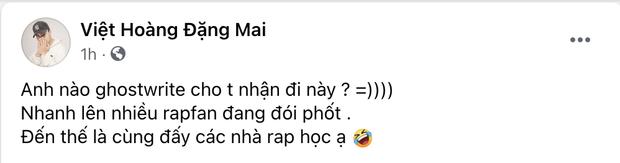 Bị tố nhờ người khác làm nhạc hộ khi dự thi Rap Việt, GDucky đanh thép đáp trả! - Ảnh 1.