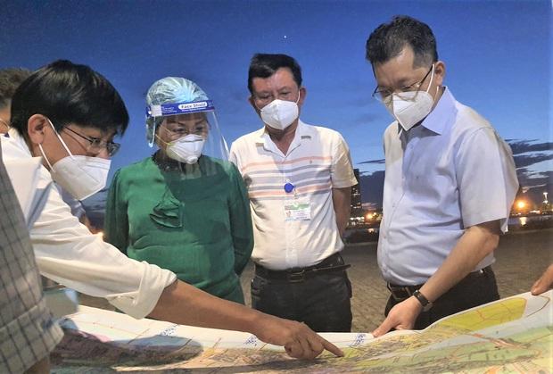 Bí thư Đà Nẵng yêu cầu phong tỏa gấp 4 phường tại quận Sơn Trà ngay trong đêm - Ảnh 2.