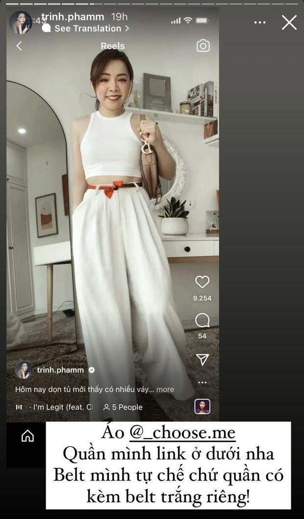 Hóa ra Trinh Phạm hay mua đồ ở mấy shop này, đủ váy áo từ cute đến sang chảnh mà giá cực ok lah - Ảnh 9.