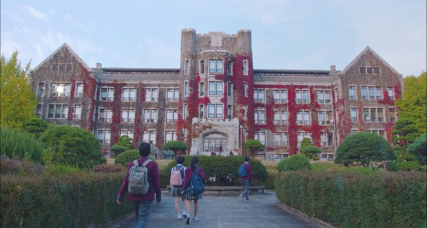 Có một trường đại học là bối cảnh của cả tá phim Hàn đình đám, nhìn Cha Eun Woo tới lớp mà muốn nhập học liền! - Ảnh 3.