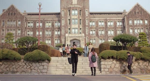 Có một trường đại học là bối cảnh của cả tá phim Hàn đình đám, nhìn Cha Eun Woo tới lớp mà muốn nhập học liền! - Ảnh 6.