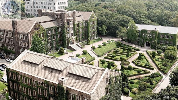 Có một trường đại học là bối cảnh của cả tá phim Hàn đình đám, nhìn Cha Eun Woo tới lớp mà muốn nhập học liền! - Ảnh 1.