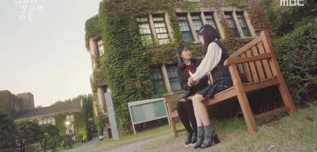 Có một trường đại học là bối cảnh của cả tá phim Hàn đình đám, nhìn Cha Eun Woo tới lớp mà muốn nhập học liền! - Ảnh 8.