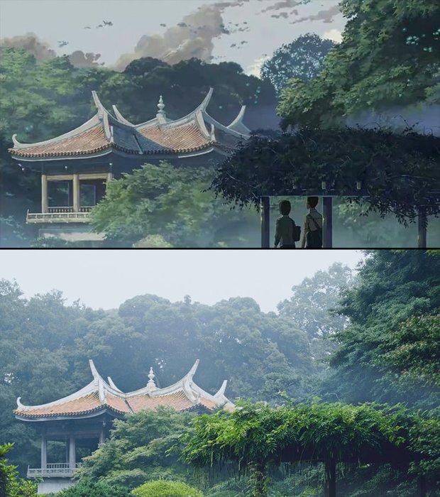 Chùm ảnh Tokyo long lanh, giống thật đến kinh ngạc ở anime The Garden of Words: Vẻ đẹp trĩu nặng của sự cô đơn giữa thành phố lớn - Ảnh 5.