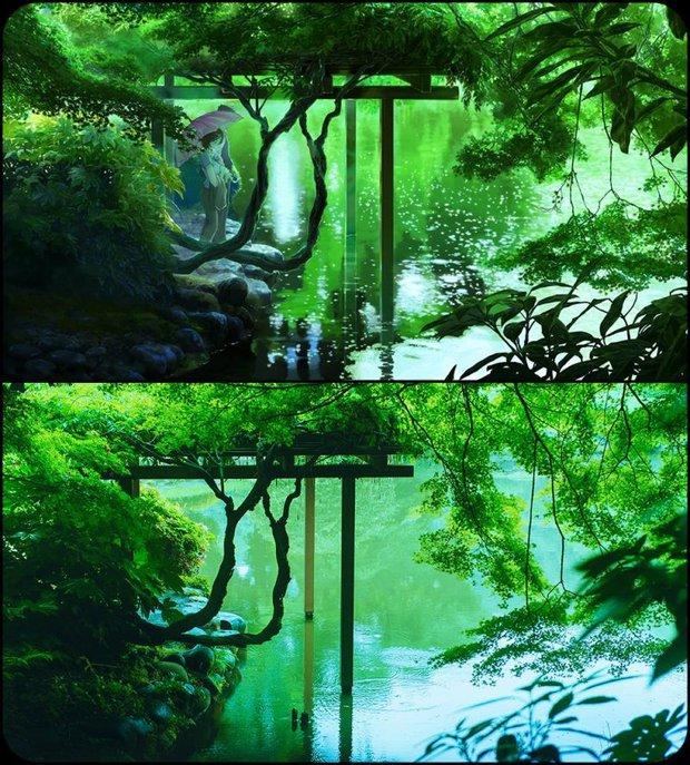 Chùm ảnh Tokyo long lanh, giống thật đến kinh ngạc ở anime The Garden of Words: Vẻ đẹp trĩu nặng của sự cô đơn giữa thành phố lớn - Ảnh 7.