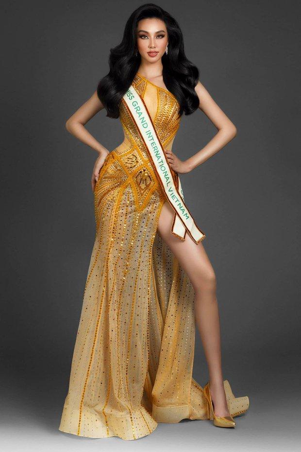 Chính thức: Đây là người đẹp đại diện Việt Nam chinh chiến Hoa hậu Hòa bình Quốc tế 2021, Mai Phương Thuý và dàn sao chúc mừng - Ảnh 2.