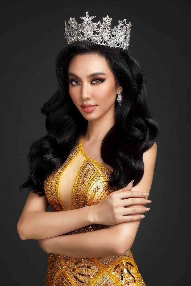 Chính thức: Đây là người đẹp đại diện Việt Nam chinh chiến Hoa hậu Hòa bình Quốc tế 2021, Mai Phương Thuý và dàn sao chúc mừng - Ảnh 3.