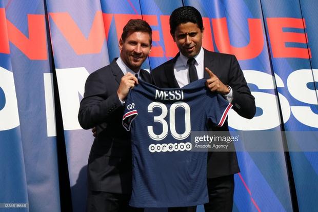 Vừa đến PSG, máy in tiền Messi đã hoạt động hết công suất, lập hàng loạt chiến tích khó tin - Ảnh 1.