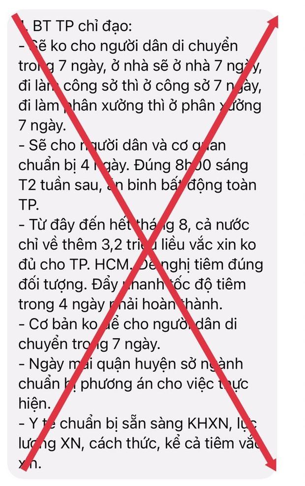 TP.HCM và TP Nha Trang bác bỏ thông tin không cho người dân di chuyển trong 7 ngày  - Ảnh 1.