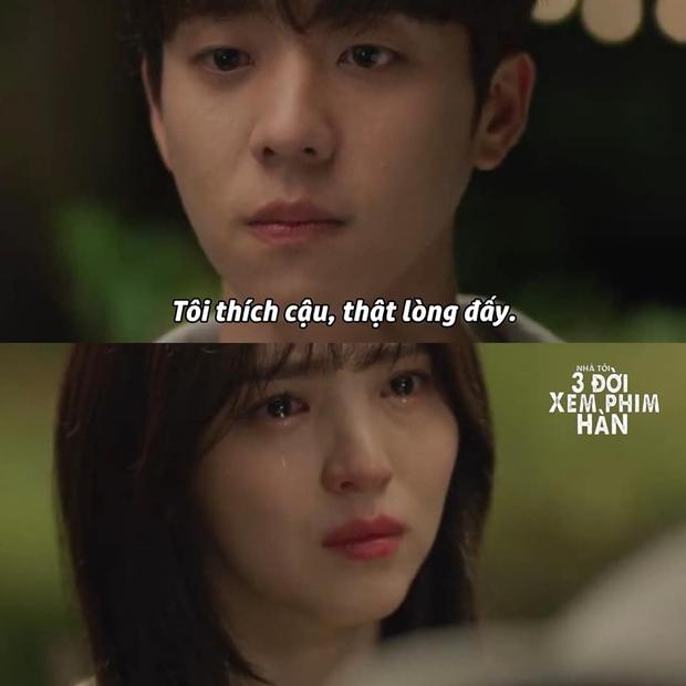 Thứ đau lòng nhất phim Hàn chính là lời tỏ tình của nam phụ: Từ True Beauty đến Nevertheless vẫn nhói lòng - Ảnh 4.