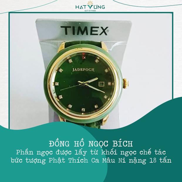 BTV Ngọc Trinh góp đồng hồ giá khủng, 1 Hoa hậu cùng dàn sao khủng livestream đấu giá mua máy thở tặng bệnh viện - Ảnh 18.