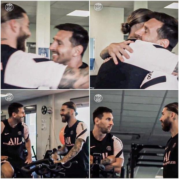 Từng chặt chém Messi kinh khủng nhất, Vua thẻ đỏ Sergio Ramos giờ lại tích cực nịnh bợ đồng đội mới ở PSG - Ảnh 24.