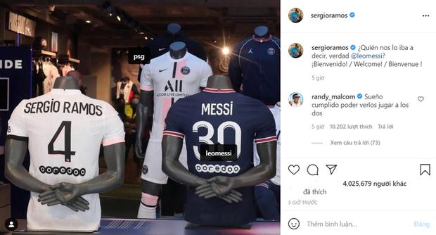 Từng chặt chém Messi kinh khủng nhất, Vua thẻ đỏ Sergio Ramos giờ lại tích cực nịnh bợ đồng đội mới ở PSG - Ảnh 25.