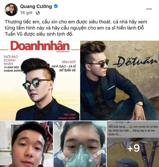 Thanh Thảo, ông bầu Quang Cường và dàn sao bày tỏ tiếc thương với người bạn ra đi ở tuổi 28 vì Covid-19 - Ảnh 2.