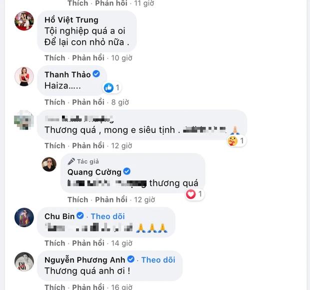 Thanh Thảo, ông bầu Quang Cường và dàn sao bày tỏ tiếc thương với người bạn ra đi ở tuổi 28 vì Covid-19 - Ảnh 3.