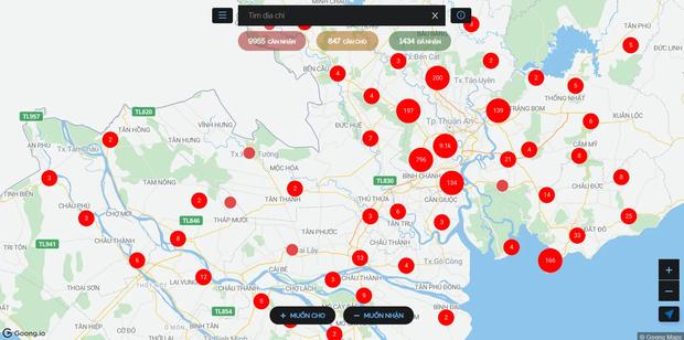 Muôn lời kêu cứu giữa đại dịch trên SOSmap và câu chuyện phía sau những chấm đỏ đã hóa xanh: Không giúp họ, lòng mình không yên... - Ảnh 1.