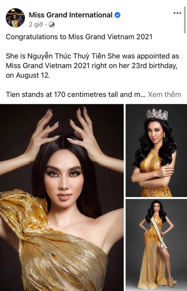Đại diện Việt Nam nhận mưa lời khen của fan quốc tế trên trang chủ Hoa hậu Hoà bình, lộ dàn đối thủ có body và visual quá đáng gờm! - Ảnh 2.