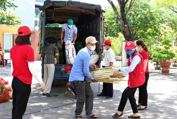 Nông dân vùng xanh ở Đà Nẵng gom rau xanh, nông sản gửi tặng vùng đỏ Sơn Trà - Ảnh 3.