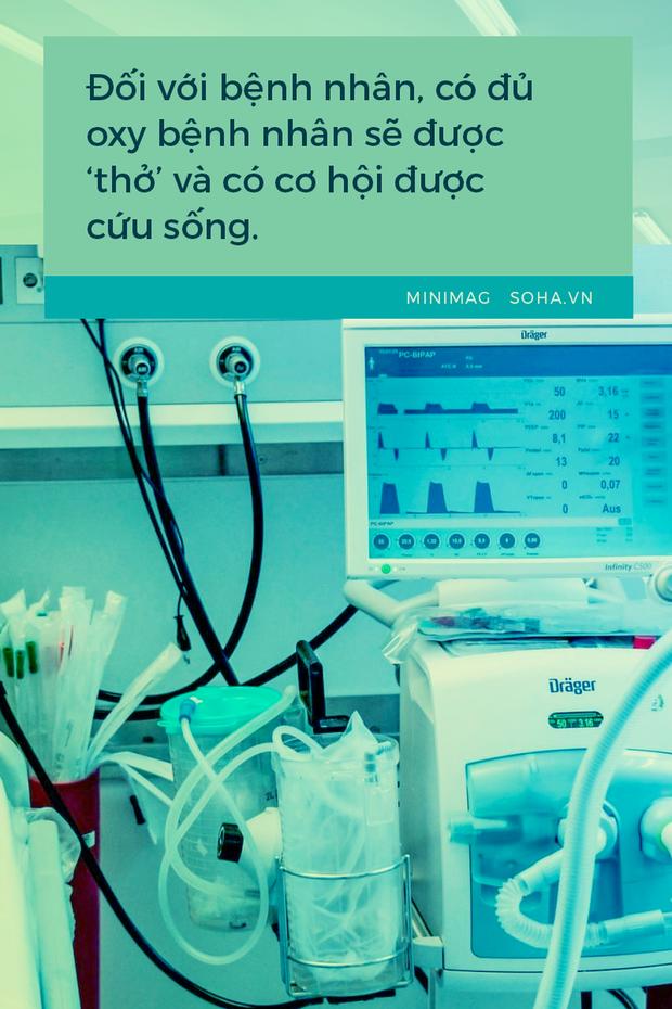 Bác sĩ hồi sức sáng kiến ra bồn chứa 32 tấn oxy cứu F0:Cả khi ngủ, tôi vẫn liên tục nghe tiếng máy thở vang trong đầu! - Ảnh 10.