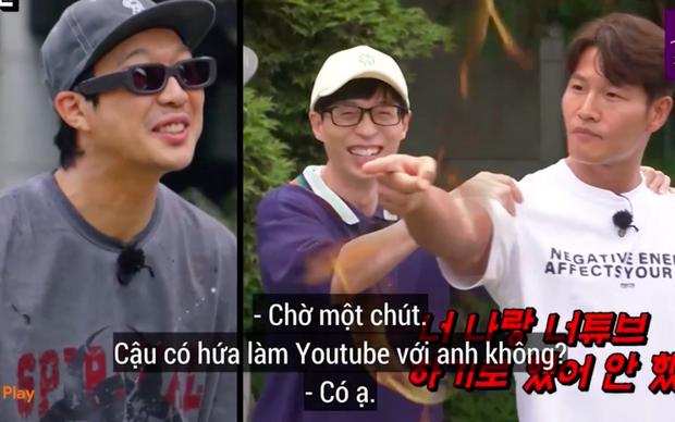 Kim Jong Kook giận đỏ mặt, Song Ji Hyo chửi um khi bị dàn cast Running Man trêu chuyện quay vlog cùng nhau - Ảnh 4.