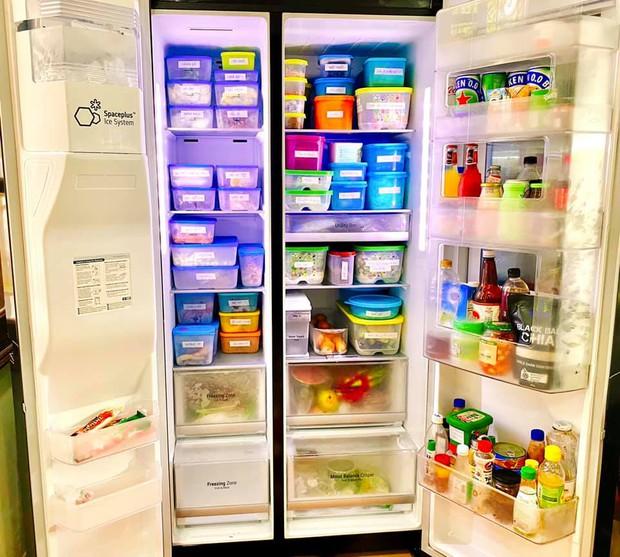 Hội chị em mê bếp nô nức khoe tủ lạnh mùa dịch: Nhiều người sở hữu BST hộp đựng khủng, có chiếc tủ bé xinh nhưng cực sáng tạo - Ảnh 5.