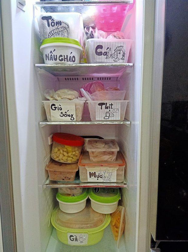 Hội chị em mê bếp nô nức khoe tủ lạnh mùa dịch: Nhiều người sở hữu BST hộp đựng khủng, có chiếc tủ bé xinh nhưng cực sáng tạo - Ảnh 6.
