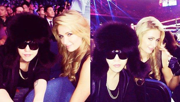 Khung hình gây nổ của sao Hàn và quốc tế: BTS - G-Dragon toàn bạn khủng, ghen tị vì Justin hôn Dara, Loki thân mật với Tiffany - Ảnh 21.