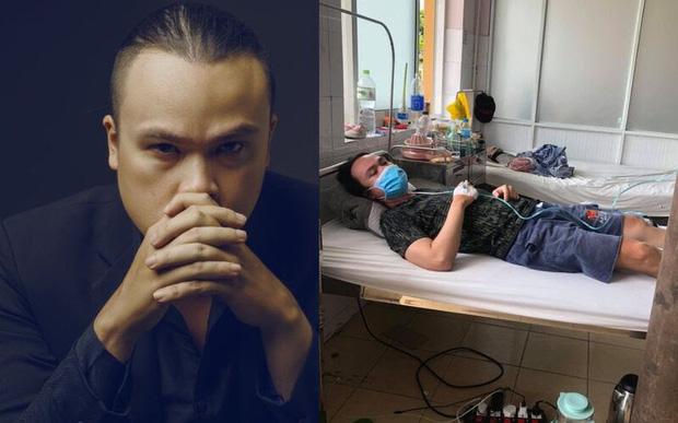 Phỏng vấn gia đình nhạc sĩ 6 thành viên F0 cùng chống Covid-19: Chồng thở máy liên tục, phải mặc tã, vợ mang thai 6 tháng ho ra máu - Ảnh 2.