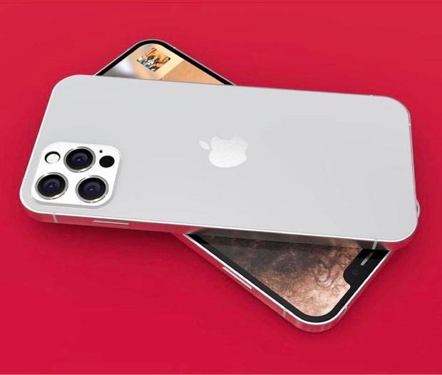 Lộ diện concept iPhone 13 màu trắng đẹp mãn nhãn, nhìn là muốn chốt đơn ngay! - Ảnh 1.