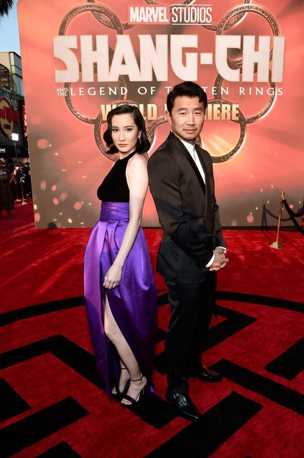Thảm đỏ bom tấn Marvel Shang-Chi: Hoa hậu TVB bị hot TikToker hở bạo chặt đẹp, Mark Tuan (GOT7) át cả nam chính và dàn siêu sao - Ảnh 5.