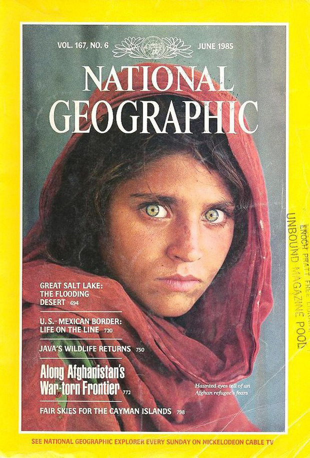 Cô gái Afghanistan trong tấm hình nổi tiếng thế giới: Phía sau đôi mắt hút hồn chứa đựng số phận nghiệt ngã của đứa trẻ tị nạn mồ côi - Ảnh 4.