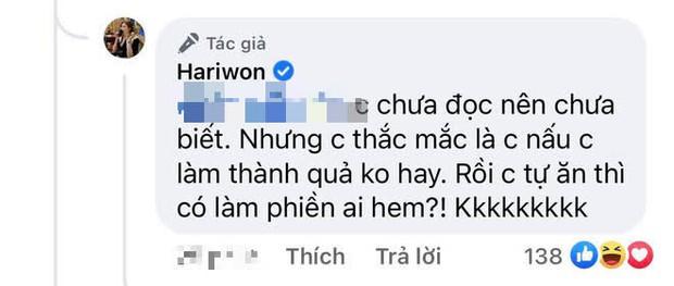 5 lần 7 lượt bị nói có thù với bếp, Hari Won giải thích thế nào về siêu phẩm bánh rán cháy đen mới ra lò?  - Ảnh 4.