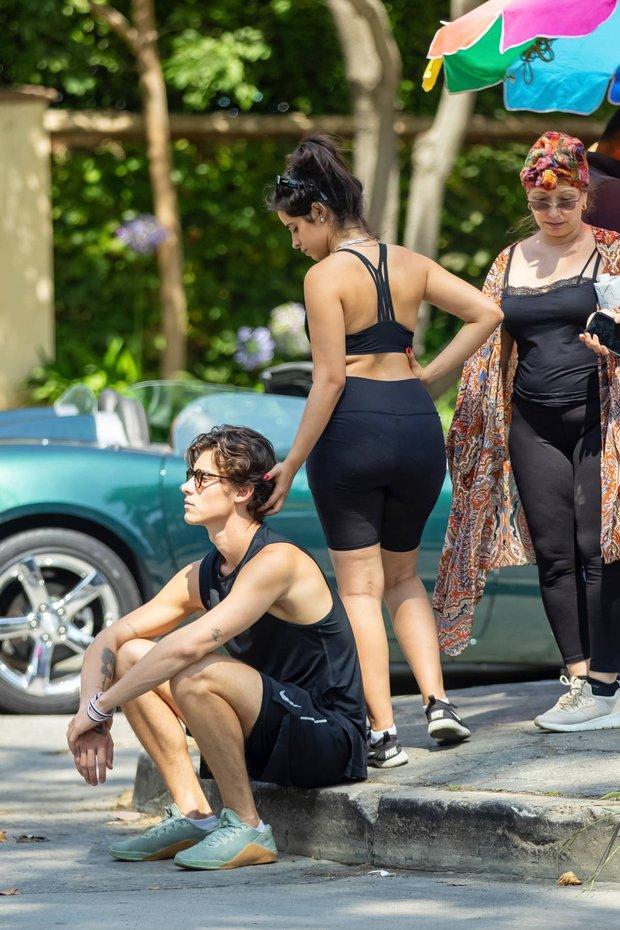 Shawn - Camila đi công viên: Chàng vẫn mlem hết sức, nàng bỗng được chúc mừng vì nghi vấn mang thai - Ảnh 8.