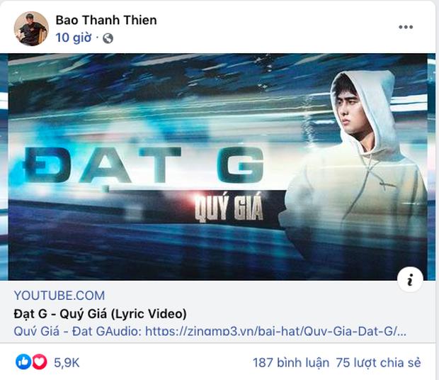 Bị chỉ trích khóc thuê khi ủng hộ MV của Đạt G, B Ray có ngay màn đáp trả nhẹ nhàng nhưng cực thấm - Ảnh 2.