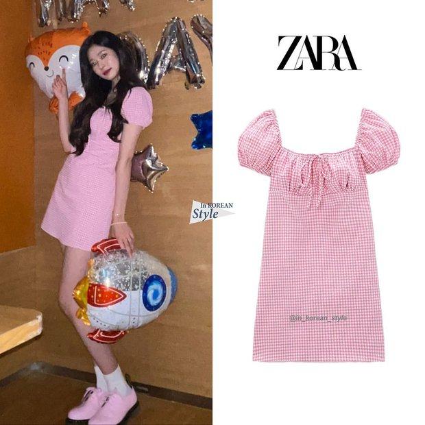 Ngó nhanh loạt đồ Zara sao Hàn vừa diện: Toàn crop top, chân váy xinh mê lại còn dễ mặc cực kỳ  - Ảnh 9.