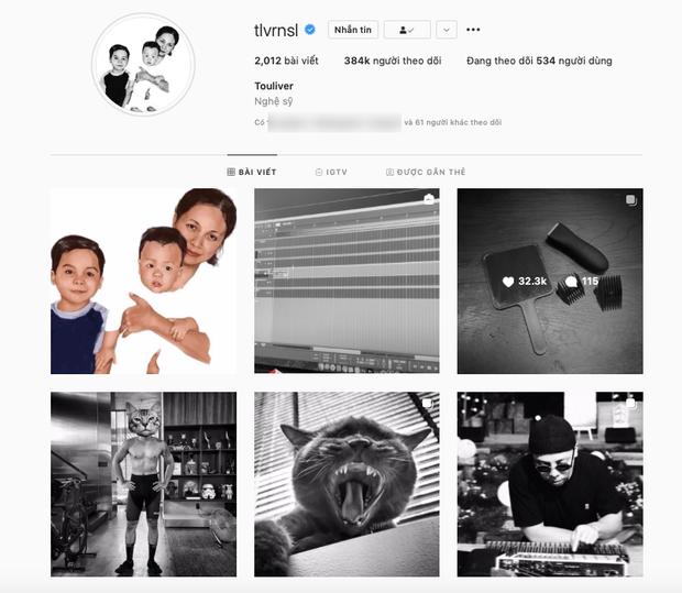 Cả trang Instagram đơn sắc của Hoàng Touliver hôm nay xuất hiện điều đặc biệt, ý nghĩa phía sau gây xúc động mạnh - Ảnh 5.