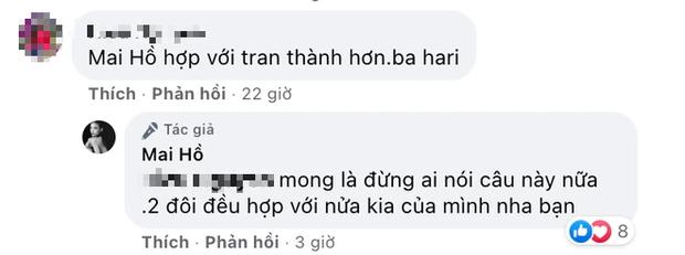 7 năm sau chia tay vẫn được khen hợp với Trấn Thành hơn Hari Won, Mai Hồ phản ứng thế nào? - Ảnh 3.