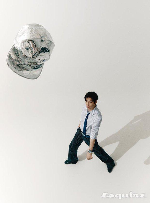 Rửa mắt ngắm visual của nam thần Lee Min Ho: Chân dài và góc nghiêng thuộc hàng cực phẩm, hững hờ chút mà fan đổ gục - Ảnh 7.