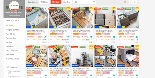 Gian hàng đồ dùng mềm mại cực yêu trên Shopee: Ghế lười hot hit chỉ hơn 500k, chi vài trăm bếch cả loạt món xinh xẻo - Ảnh 1.