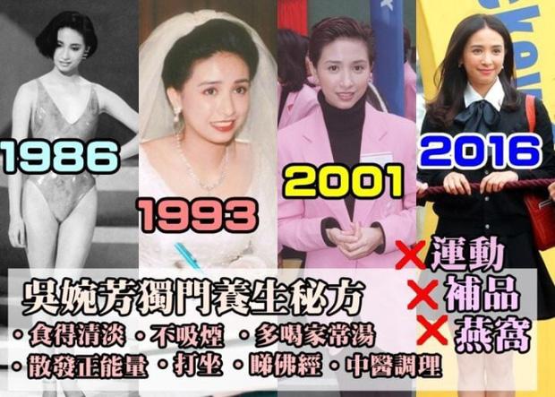 Đại mỹ nhân Ngô Uyển Phương: Ngày trẻ thì sắc sảo khỏi bàn, giờ U60 vẫn đẹp kinh điển, nhìn đâu khác gì U30 - Ảnh 1.